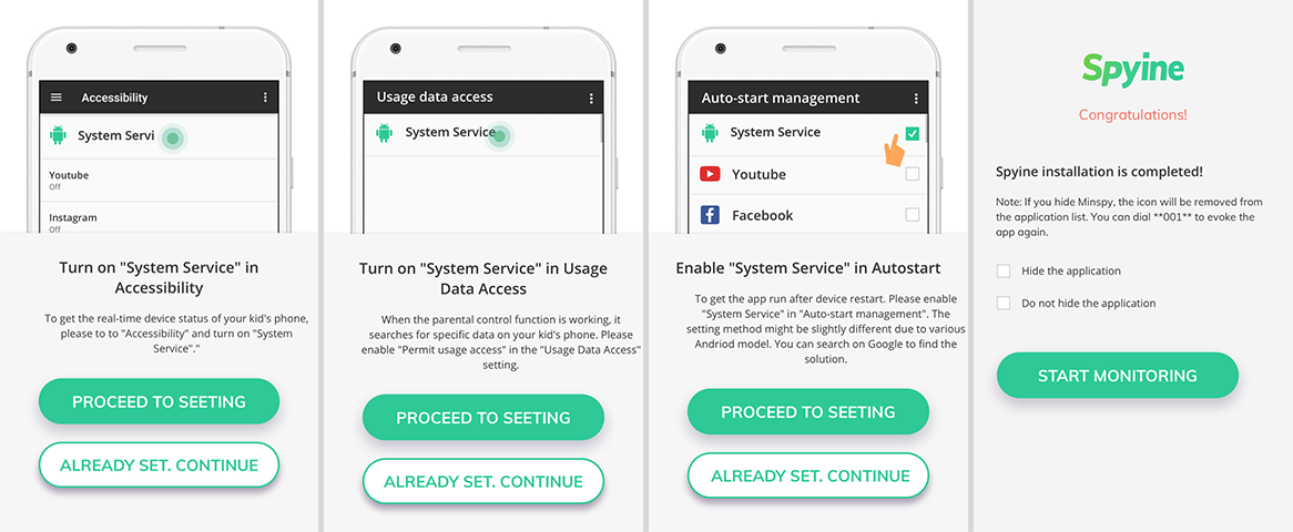 cocospy android tracking app setup 02