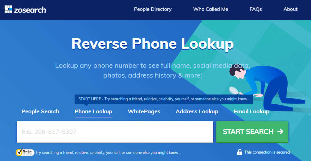 zosearch reverse phone lookup